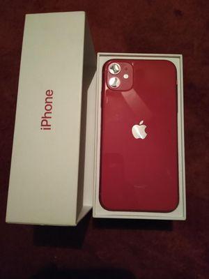 iPhone 11 nuevo con todos sus accesorios incluye 2 estuches uno trasparente y otro contra el agua y polvo for Sale in Bakersfield, CA