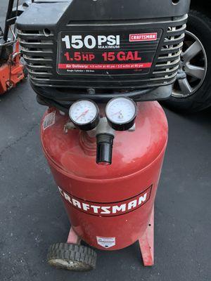 Air compressor 15 gallons. for Sale in Algonquin, IL