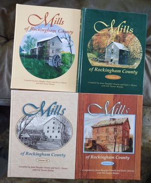 Mills of Rockingham County, 4 Volumes, 2 signed for Sale in Fort Defiance, VA