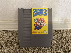 Super Mario 3 Nintendo for Sale in Albuquerque, NM
