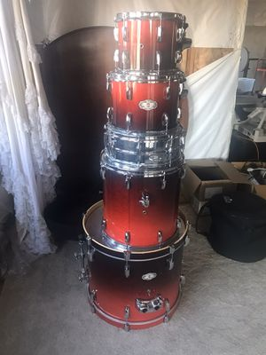 Drum set with Drum Rack for Sale in Littleton, CO