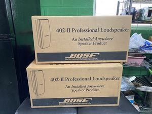 Bose 402 Proffesional Speaker Series II for Sale in Wheaton, MD