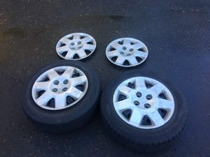 "Honda Rims 15"" and tires from '03 Civic for Sale in Issaquah, WA"