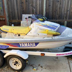 1996 Yamaha Waverunner Jet Ski and Trailer for Sale in Pinole, CA
