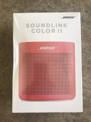 Bose Soundlink ll Bluetooth Speaker Coral for Sale in Canton, MI