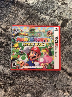 Mario Party Star Rush for Sale in Fort Worth, TX