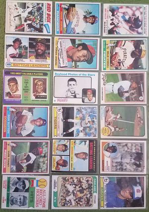 Sports cards Baseball Old School Stars and Hofers for Sale in Glendale, AZ
