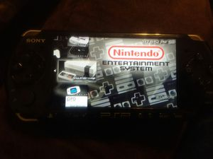 Retro Modded PSP slim for Sale in Brooklyn, OH