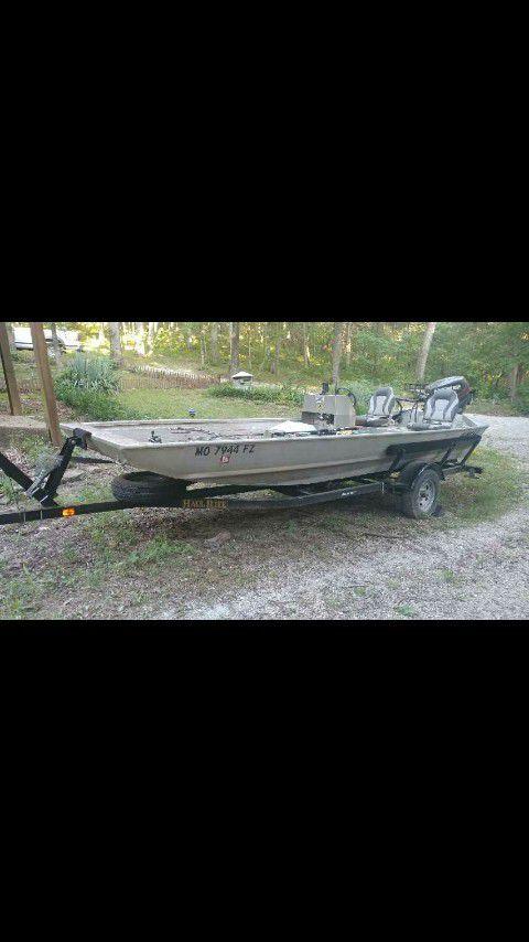 2013 Allwed River Boat/Fishing Boat