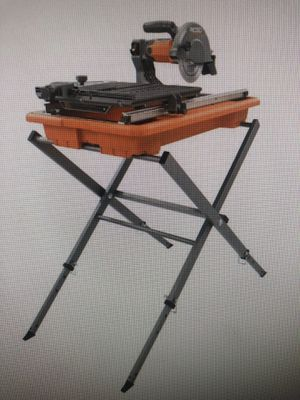 """7"""" wet tile saw used once for Sale in Orlando, FL"""