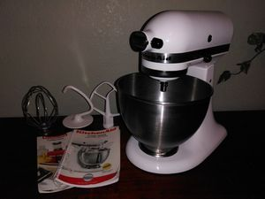 Kitchen Aid stand mixer and attachments for Sale in Fresno, CA