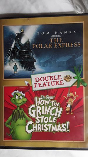 How the grinch stole christmas and Polar express movies for Sale in Norwalk, CA