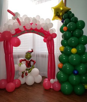 Grinch Christmas balloon decorations for Sale in Ashland, KY