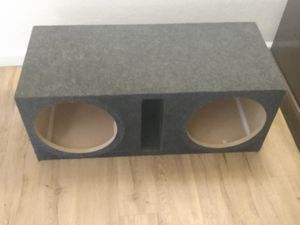 "12"" subwoofer box for Sale in Aurora, CO"