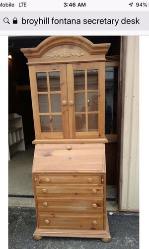 Curio Cabinet or Dining or Secretary Desk for Sale in Valrico, FL