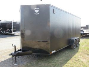 2018 AMERICAN DIAMOND CARGO ENCLOSED TRAILER 7' X 18' G V W R 7000 LBS for Sale in Ridley Park, PA