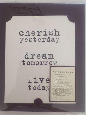 Pottery barn Frame sentiment cards for Sale in Manassas, VA