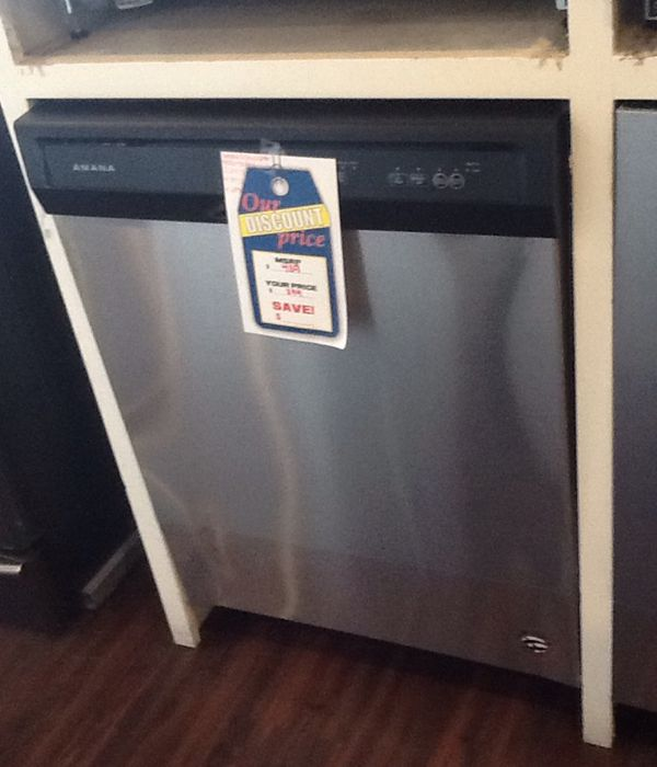 New open box Amana dishwasher ADB1400AGS