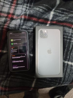 IPhone 11 pro Max(unlocked)/Mac book pro 2019 mid for Sale in Kingsville, MD