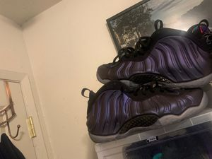 Nike foamposite eggplant 8.5 for Sale in RICHMOND, CA