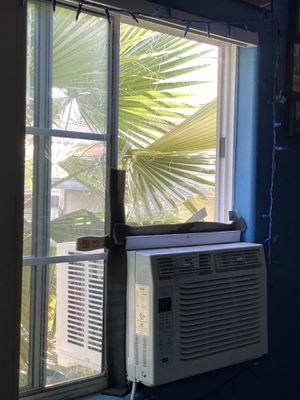 Window AC up down side to side plexiglass for Sale in Los Angeles, CA