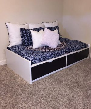 IKEA Flaxa twin bed frame for Sale in Portland, OR