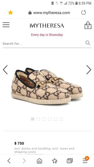 Gucci loafers Sz 40 for Sale in Sanger, CA