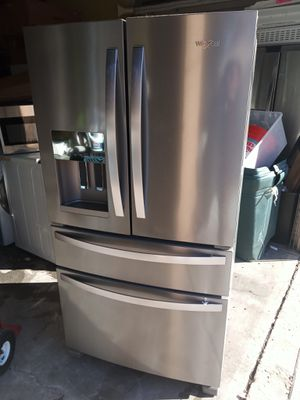 New Whirlpool stainless steel four door french door refrigerator for Sale in Chula Vista, CA