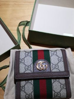 NEW Gucci Ophidia GG french flap wallet for Sale in Rockville,  MD