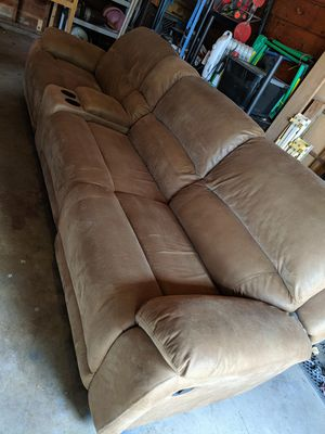 4 Piece Sectional Recliner Couch for Sale in Wenatchee, WA