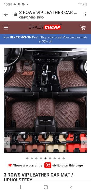 New in the Box Customer Mats floorfloor Diamond cut Coffee for GMC Acadia For the whole car for Sale in The Bronx, NY