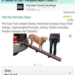 Pet Gear Ramp for Sale in Pompano Beach, FL