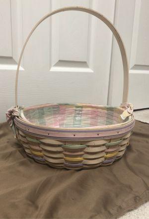2000 Large Longaberger Easter basket for Sale in Providence, KY
