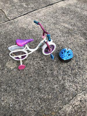 Child's girl bike/helmet for Sale in Pittsburgh, PA