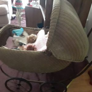 Antique doll stroller for Sale in Sellersville, PA