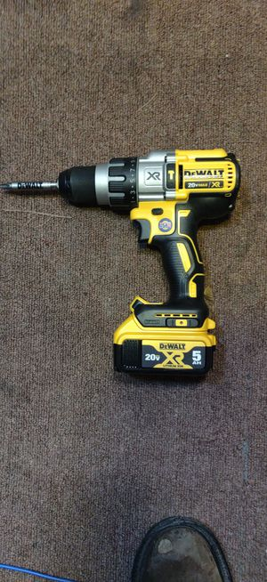 NEW DeWalt XR Brushless 3 speed Hammer Drill!! for Sale in Colorado Springs, CO