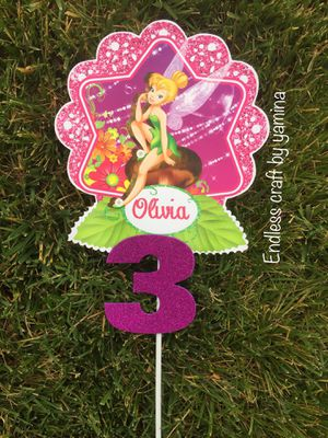 Tinkerbell Stick Decoration for Sale in Los Angeles, CA