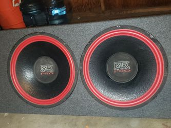 "Mtx Road Thunder Pro 15"" Single Coil WORKING Good for Sale in Spring Valley,  CA"