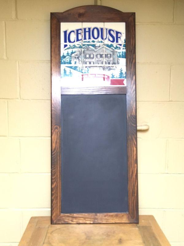 Icehouse Beer chalkboard