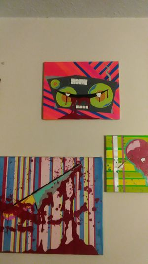 Multiple acrylic paintings for Sale in Cleveland, OH