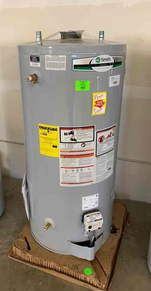 NEW AO SMITH WATER HEATER WITH WARRANTY 74 gallons JKWQ for Sale in West Covina, CA