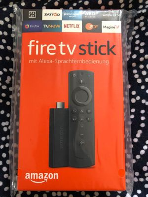 All New HDR Unlocked Amazon Fire TV Stick w/ Voice+Volume Remote for Sale in Houston, TX