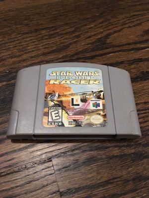 N64 Star Wars Episode 1 Racer Game for Sale in El Segundo, CA