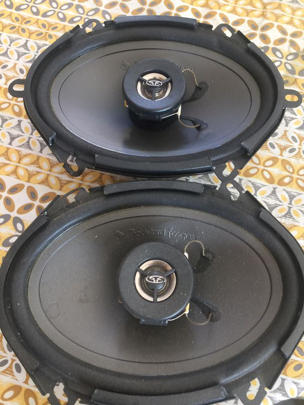 Rockford fosgate 5 x 7 speakers frc 3257 120 w