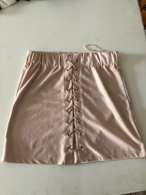 Pink lace up skirt size small for Sale in Pico Rivera, CA