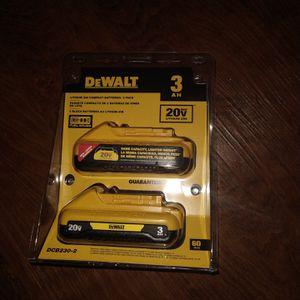 Batteries Dewalt for Sale in Irving, TX