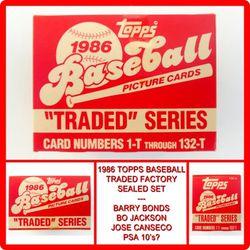1986 Topps Baseball Traded Sealed Set for Sale in Whittier,  CA