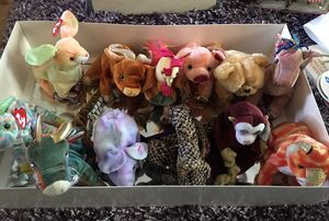 TY beanie babies complete set of 12 Chinese Zodiac - new with tag for Sale in San Jose, CA
