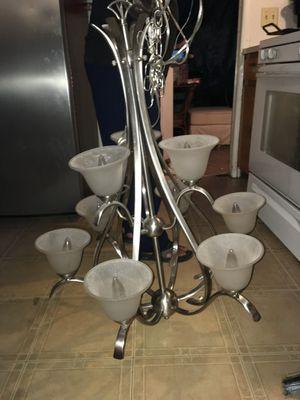 Silver chandelier for Sale in Austin, TX