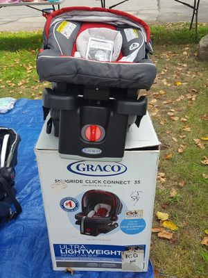 Graco SnugRide Click Connect 35 Infant Baby Car Seat for Sale in Sharon, MA